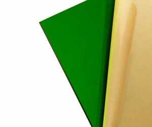 Green Transparent Acrylic Plexiglass Sheet 1 8 X 12 X 12 2092