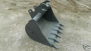36 Quick Attach Bucket Built To Fit Kubota U45 Excavator Guaranteed Fit New