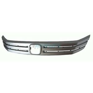 New Front Grille Molding Fits 2010 2011 Honda Insight Ho1210134