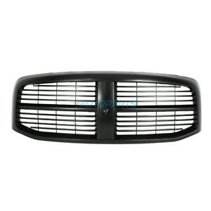 New 2006 2009 Fits Dodge Ram 2500 Front Grille Black Ch1200280