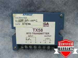 Omega Engineering Tx58 Rtd Transmitter Tx58 pts