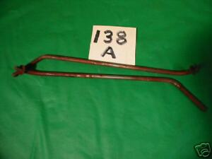 Jaguar Xk 120 Xk120 Rear Wing Brace Pair x138a