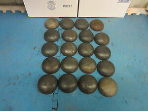 Pipe Caps Steel Domed Weld On Size 3 1 2 Inch Outside Diameter Lot Of 20
