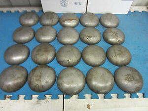 Pipe Caps Steel Domed Weld On Size 5 1 2 Inch Outside Diameter Lot Of 20