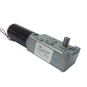 12v 3rpm Low Speed High Torque Turbo Gear Reducer Motor Single Shaft Output