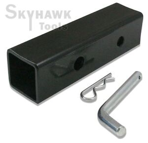 New 2 To 1 1 4 Hitch Receiver Adapter Converter Reducer Trucks Rv Trailers