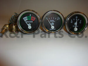 Oil Temperature Amp Gauge Set For Farmall Ih 240 300 330 340 Gas 350 400 450 660