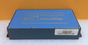 Spectracom Corp 8140vt 75 00 Ds3 In To 4 Khz Ttl Out 10 Mhz Impedance Versatap