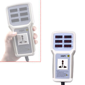 Mini Electric Power Energy Tool Monitor Tester Socket Analyzer Meter Tester