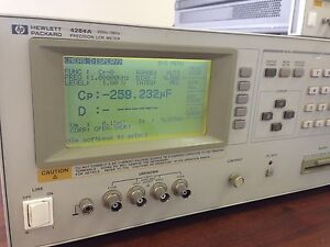 Hp Agilent 4284a Lcr Meter Working
