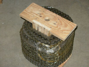 40 Roller Chain 100ft Reel With 10 Connecting Links 40 1r 100ft 1 2 Pitch