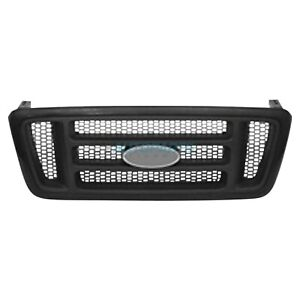Grille With Black Honeycomb Fits 2004 2008 Ford F 150 Fo1200414