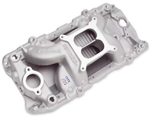 Edelbrock 7561 Performer Rpm Air gap Intake Manifold Big Block Chevy Oval Port