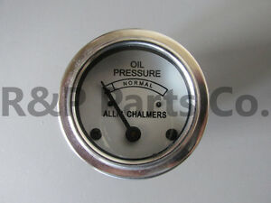 Oil Gauge 30 Psi For Allis Chalmers B C Ca G Ib Rc D G Rc Wc Wf Wd Wd45 70207834