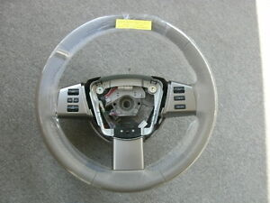 Nissan 48430 zk20a Steering Wheel Leather 2006 Maxima Oem Factory Original