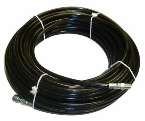 1 8 X 100 Sewer Cleaning Jetter Hose 4800 Psi