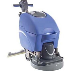Industrial Electric Automatic Scrubber 180 Rpm 1 6hp 11 Gallon 120v Janitor