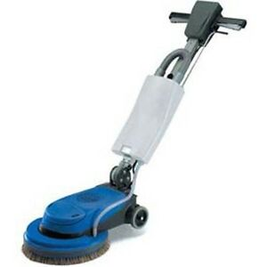 Industrial Floor Scrubber Machine 13 Brush Size Janitor 1 Gallon 200 Rpm