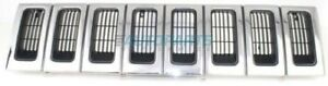 New 1993 1995 Fits Jeep Grand Cherokee Front Grille Black Ch1200143 5df54mx8