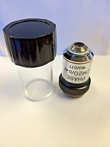 Bausch Lomb 20x Phase Contrast Microscope Objective Brand New