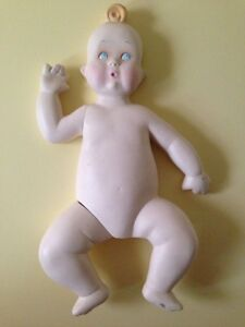 Vintage Baby Mannequin Kewpie Style Boy Or Girl Store Display