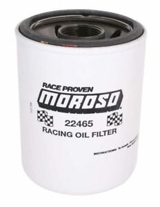 Moroso 22465 Racing Oil Filter Fram Hp6 Replacement 1 1 2 Thread Heavy Duty