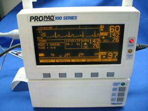 Welch Allyn Propaq 100 El Series Vital Sings Patient Monitor