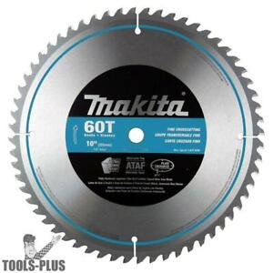10 X 60t Miter Saw Blade Makita A 93675 New