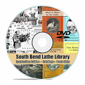South Bend Lathe Manual Library Collection How To Run A Lathe Parts List Cd V26