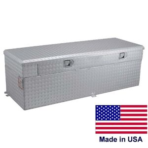 Commercial 91 Gallon Auxiliary Tank Toolbox 55 X 30 X 22 For 8 Ft Beds