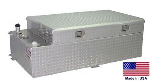 Commercial 90 Gallon Transfer Tank Toolbox 55 X 30 X 19 For 8 Ft Bed