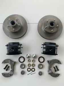 Mustang 2 Ii 11 Disc Brake Kit Ford Drilled Slotted 5 X 4 1 2 Rotors Rat Rod