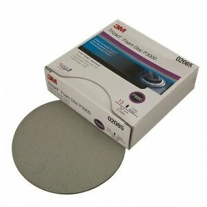 3m 2085 Trizact Hookit Foam Discs 6 Inch P3000 Grit 02085 1 Single Disc