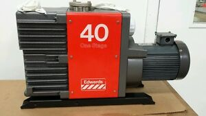 Edwards 40 E1m40 Vacuum Pump Used