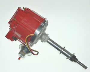 New Straight Inline 6 Cyl Hei Distributor For Chevy Gm 194 230 250 292 50k Volt