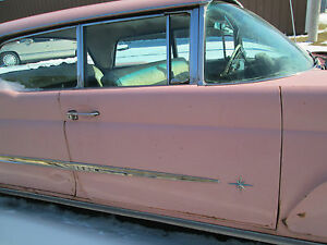 1958 Lincoln Premiere Right Passenger Front Door Oem 58