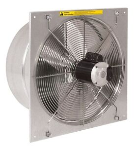 20 Twister Exhaust Fan For Greenhouses Farms Garage Workshops Industrial