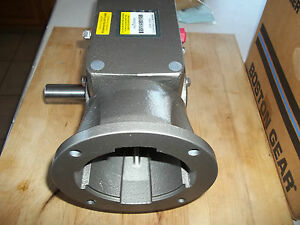 Boston Gear 25 1 Stainless St Wash Down Right Angle Gear Reducer Sbkqc72625zb5g