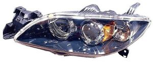 For 2004 2005 2006 2007 2008 2009 Mazda 3 Sedan Headlight Headlamp Driver Side
