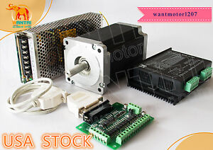 Usa Free wantai 1axis Nema34 Stepper Motor 1232oz in 5 6a 4 lead