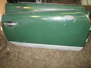 Triumph Spitfire Complete Doors Left And Right Solid