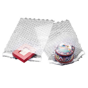 100 9x12 Bubble Out Pouches Bubble Bags Self Seal