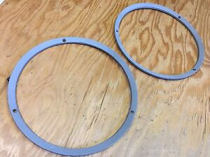1967 67 Ford Mustang Gt Head Light Trim Ring Set Used Oem