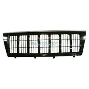 New Grille Painted Surround And Insert Fits 2004 Jeep Grand Cherokee Ch1200301