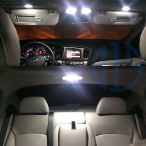 10x White Led Interior Package License Plate Light For 2011 2017 2018 Kia Optima