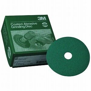 3m 5 24 Grit Green Corps Fibre Sandpaper Grinding Disc 20 In A Box 1915 01915