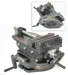 New 6 360 Swivel Vise Drill Cross Vise Two Way Slide Press Milling Machine