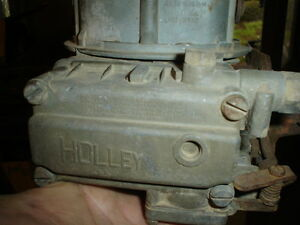 Holley 2 Barrel Carbs 103 300 350 Cfm 3x2 Or Regular Installations
