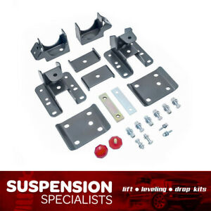 07 18 Chevy Gmc Sierra Silverado 2wd 5 6 Drop Lowering Axle Flip Slammed Kit