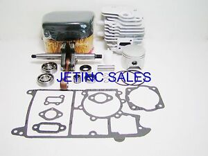 Cylinder Piston Kit Nikasil Fits Partner K650 K700 Cutoff Saws